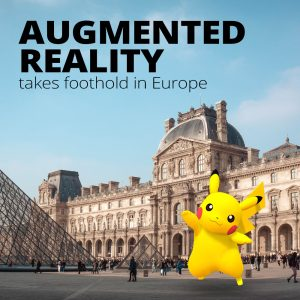 Augmented Reality AR Apps Take Foothold in Europe